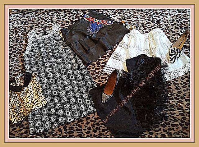 TABLEAU VETEMENTS VIDE DRESSING